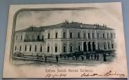1901 circa: edificio della Società Operaia Tortonese.